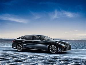 Lexus LS500h 2018, el gran sedán híbrido