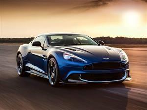 Aston Martin Vanquish S 2017, más potencia para el auto de Bond