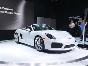 Porsche Boxster Spyder 2016, deportivo para puristas