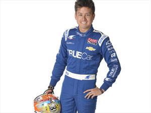 Sebastián Saavedra nada que arranca en la IndyCar