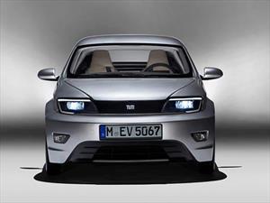 Visio.M EV un concepto de resina creado por BMW y Daimler