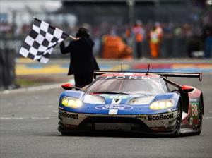 Ford regresa triunfalmente a Le Mans 2016