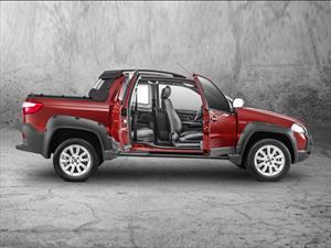 FIAT nueva Strada 3 puertas en Expoagro 2014