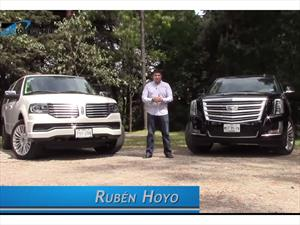 Comparativa: Lincoln Navigator vs Cadillac Escalade