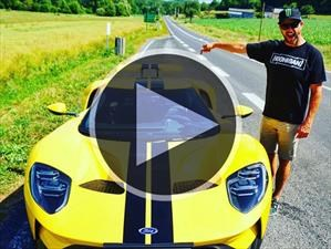 Video: Ken Block despunta el vicio con un Ford GT en Le Mans