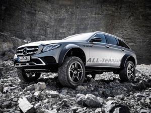 Mercedes Benz Clase E All Terrain 4x4^2, para familias extremas
