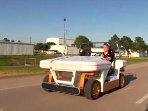 Nuevo vehículo de la NASA puede driftear y hacer giros de 360°