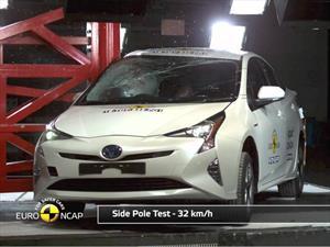 Toyota Prius 2016 consigue 5 estrellas en las pruebas de la Euro NCAP