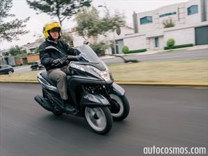 Yamaha Tricity 2015 a prueba