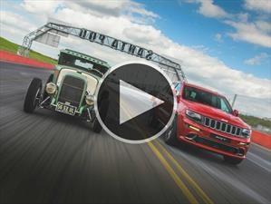 Video: Jeep Grand Cherokee SRT vs Hot Rod ¿Quién gana?