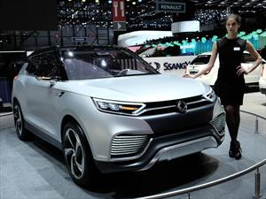 ¿Te acordás de Ssang Yong? ahora presentó su XLV Concept