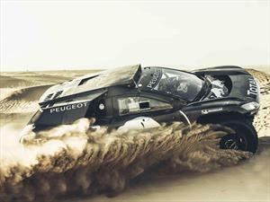Peugeot 2008 DKR16, el arma para Dakar en 2016