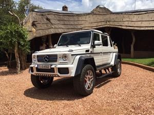 Mercedes-Maybach G650 Landaulet es espiado en video