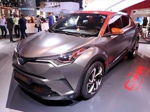 Toyota C-HR Hy-Power Concept, un nuevo híbrido está en camino