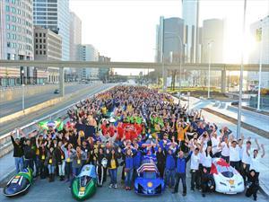 La Universidad de Toronto, ganadora del Shell Eco-Marathon Americas 2015