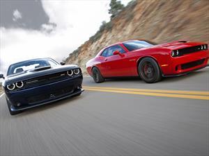 Dodge Challenger SRT Hellcat, al acecho del Shelby GT500 y el Camaro ZL1