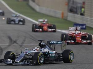 F1: Victoria para Lewis Hamilton y Mercedes en Bahrein