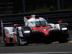 Piloto del equipo Toyota rompe récord de Le Mans