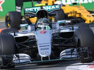 F1 Gran Premio de Italia: Mercedes gana otra vez, Rosberg descuenta