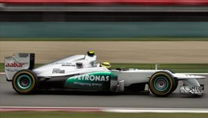 F1: Mercedes-Benz volvió a la gloria