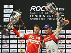 Vettel triunfa en Race of Champions 2015