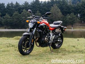 Yamaha FZ-07 2015 a prueba