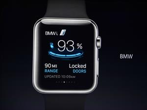 Puedes controlar tu BMW i con el Apple Watch
