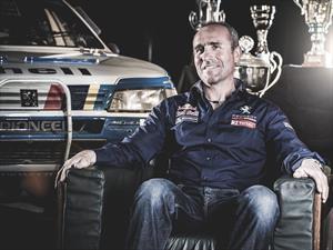Peterhansel ya es piloto de Peugeot para el Rally Dakar