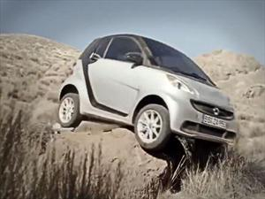 Video: Genial publicidad de un smart Fortwo haciendo off-road