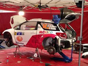 Listo el Citroën DS3 WRC en que competirá el mexicano Benito Guerra en el Rally de México