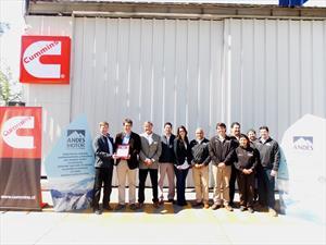 Andes Motor recibe certificación de calidad Cummins