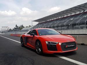 Primer contacto con el Audi R8 V10 Plus 2017