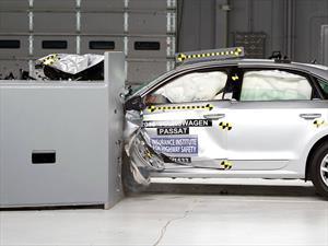 El nuevo Volkswagen Passat obtiene el Top Safety Pick+ del IIHS