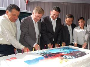Toyota celebra 10 años de su planta en Tijuana, Baja California
