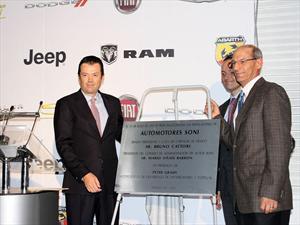 Autos Soni estrena agencias Chrysler y FIAT Pedregal
