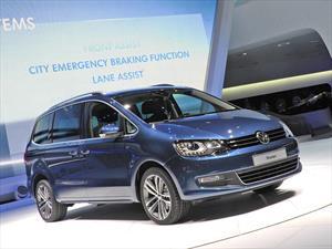 Volkswagen Sharan 2015 se presenta