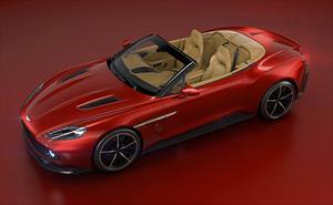 El diseño Zagato alcanza al Vanquish cabrio