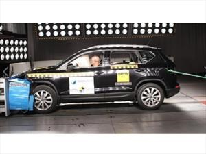 SEAT Ateca 2017 obtiene cinco estrellas en pruebas de Latin NCAP