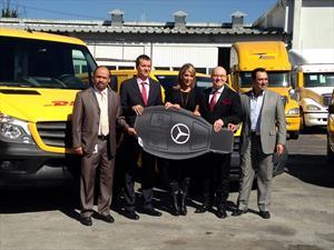 DHL Express incorpora 30 Mercedes-Benz Sprinter NGT 2015 a su flotilla