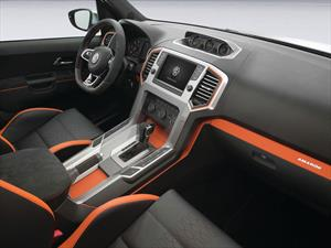 Volkswagen Amarok 2015, primeras imágenes del interior