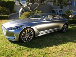 Hyundai Vision G Coupé Concept, el dinámico futuro de la firma coreana