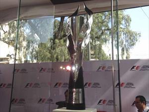 Así es el trofeo del Gran Premio de México 2015