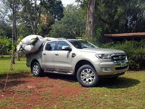 Probamos la Ford Ranger 2017