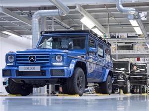 Mercedes-Benz Clase G llega a las 300 mil unidades producidas