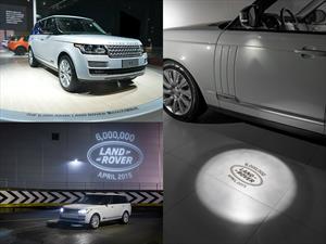 Land Rover  llegó a seis millones de unidades ensambladas
