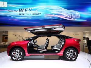 Wey XEV Concept la SUV china del futuro