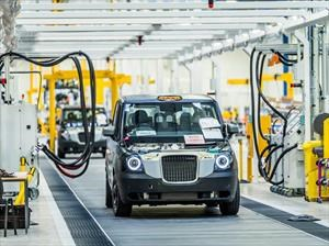 The London Taxi Company inicia la producción de autos EV