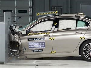 BMW Serie 5 2017, sobresaliente en las pruebas de choque del IIHS