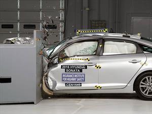 Hyundai Sonata 2016 recibió el Top Safety Pick+ del IIHS