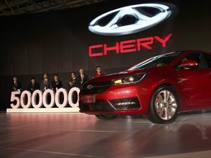 Chery celebra 5 millones de unidades